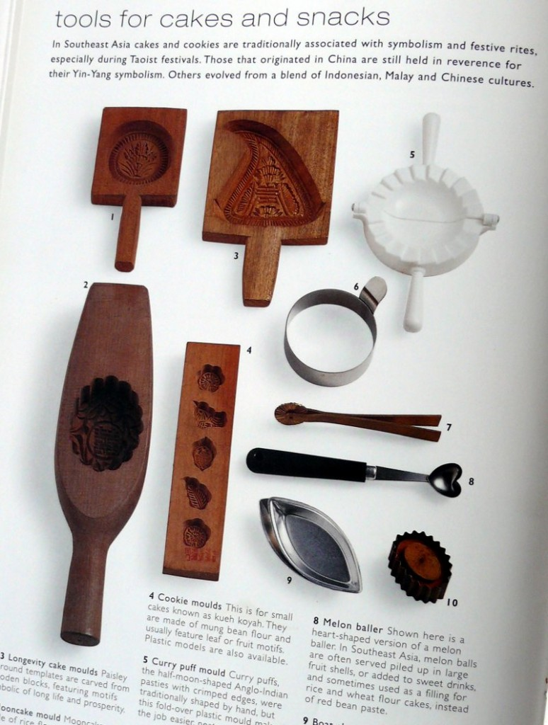 Asian Cook. תבניות לייצור עוגיות. Photo: Michael Paul