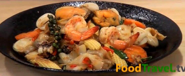 פאד קי מאו פירות ים