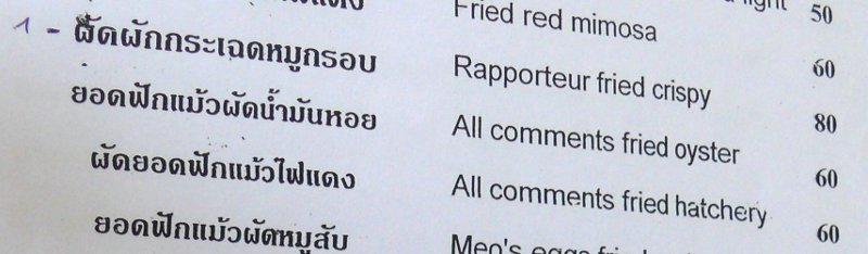 All comments fried oyster